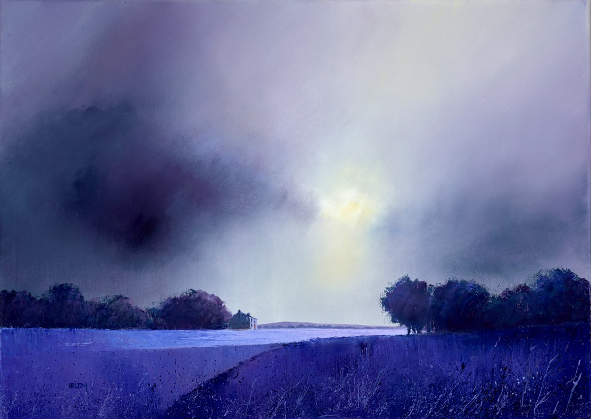 Sunrise Lavender by barry hilton -  sized 28x20 inches. Available from Whitewall Galleries